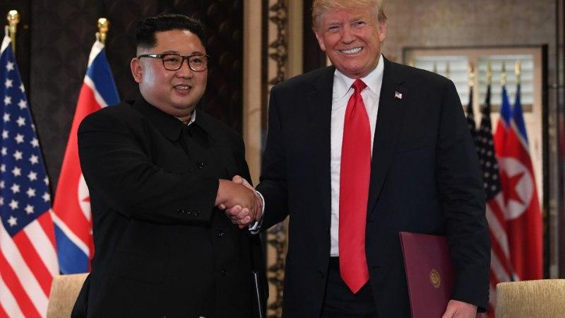 """""""Me armusime üksteisesse."""" Trump ja Kim kiidavad edukat kirjavahetust"""