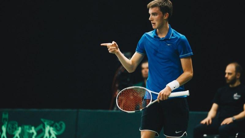 Ajateenistusest naasnud tennisist: see tuli kindlasti kasuks iseseisvumisel ja nii-öelda mehistumisel