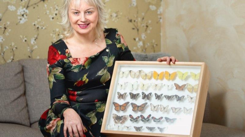 PÕNEV HOBI! Tallinlanna Annely käib reisimas, et püüda kauneid liblikaid