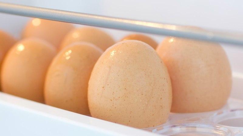 OHTLIK HARJUMUS: ära säilita mune külmkapi munarestis!