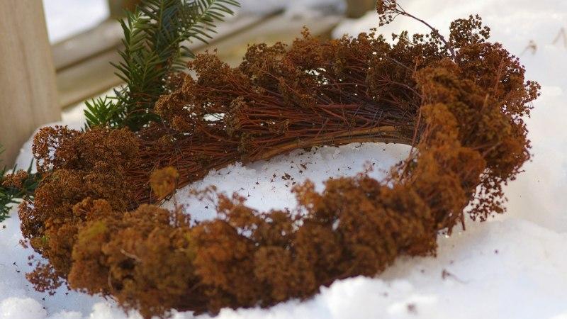 Talvised õuevaasid ja lillekastid