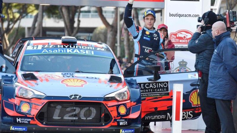 Neuville ja Loeb kiitsid Toyotade kiirust