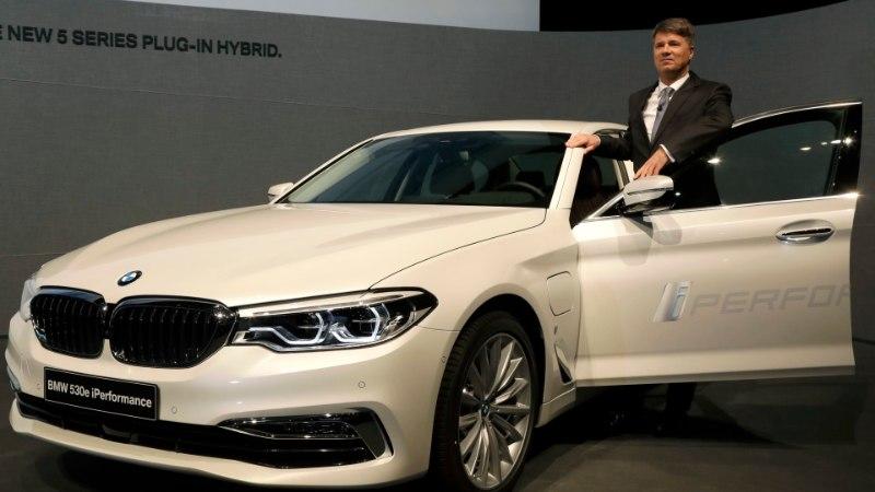 BMW on fookusesse võtnud pistikhübriidid: linnas peab saama ainult elektriga sõita