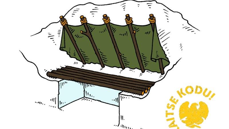 TALVINE ÜLEELAMINE | Lumest peavari aitab talvel ellu jääda
