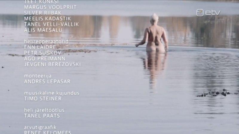 """Vahur Kersna lõpukaadrist, kus Evelin ihualasti ujuma läks: """"Alasti keha ei tohiks olla mingisugune tabu 21. sajandi vabas Eestis."""""""