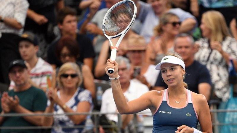 Kontaveit sai Sydney turniiriks keerulise loosi