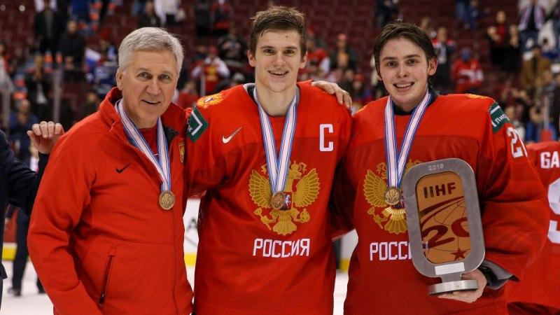 SKANDAAL! MMi korraldajad häbistasid Venemaa hokikoondist