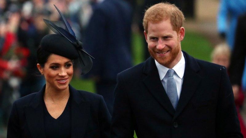 Prints Harry ja Meghani laps jääb kuninglikust tiitlist ilma?