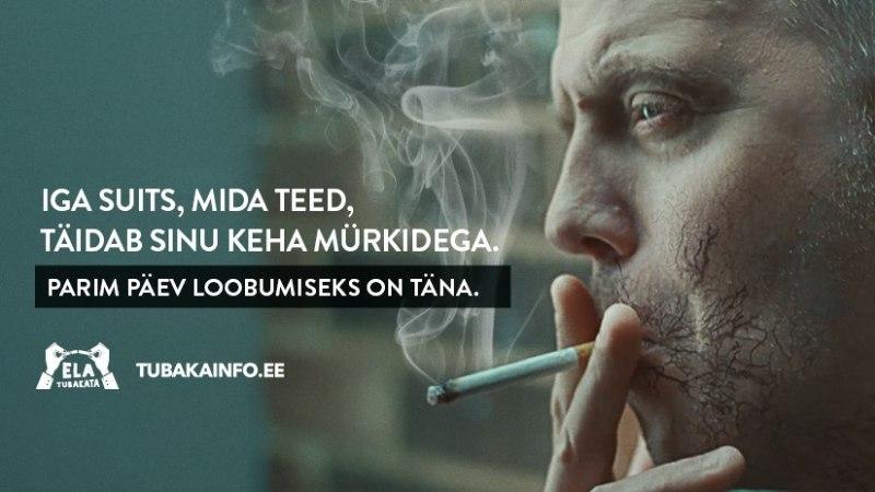 LOOBU KOHE: suitsetamine kahjustab sind alates esimesest mahvist