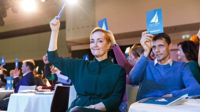 Kristina Kallas tunnistab lekkinud kirjas erakonnakaaslastele: Eesti 200 püstitas täna Tallinna kesklinna ühe plakati