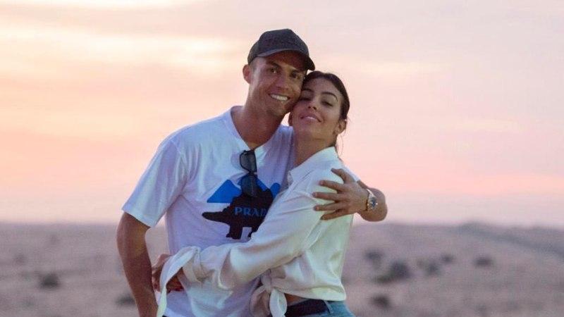 FOTOD | Cristiano Ronaldo ei saa silmi oma naise taguotsalt eemale