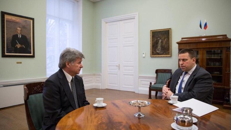 Jüri Ratas loodab, et Eesti ja Venemaa suhted paranevad