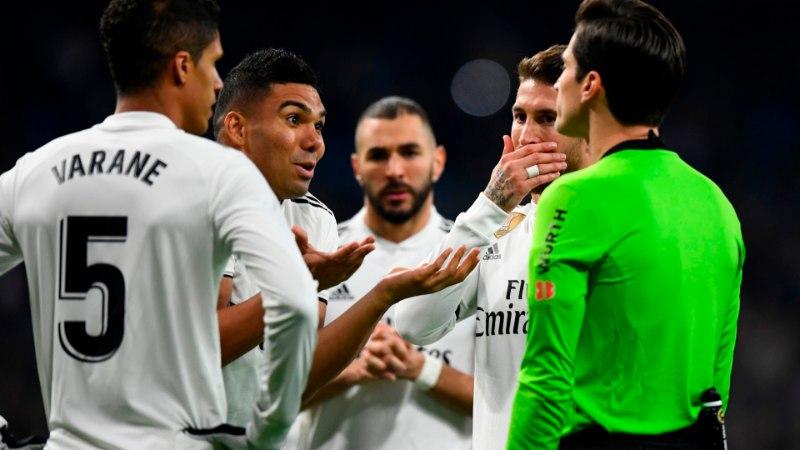 SALAVIMM? Videokohtunikud lõid pärast Madridi Realile löödud väravat teineteisega patsu