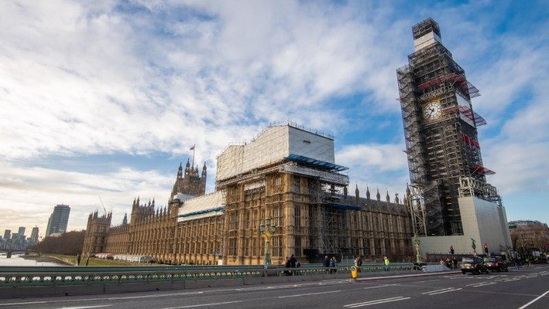 В Лондоне задержали пытавшегося проникнуть в Вестминстерский дворец мужчину
