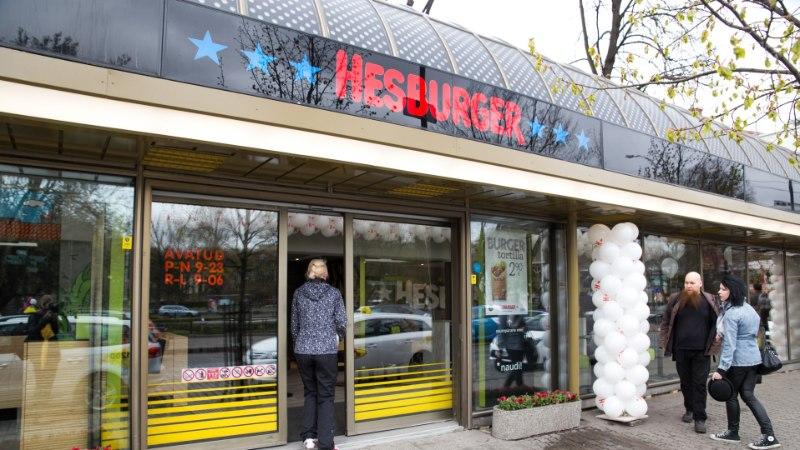В прошлом году обороты продаж Hesburger в Эстонии выросли на 13%