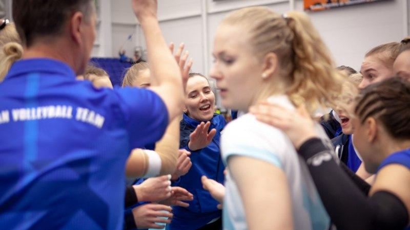 VIDEO | Vaata vollemängu viimast punkti ja Eesti naiskonna võidurõõmu!