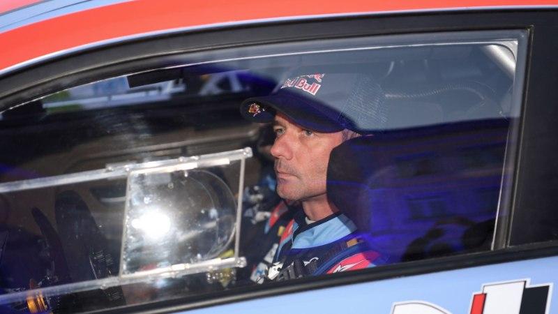 Sebastien Loeb keeras testisõidul auto üle katuse