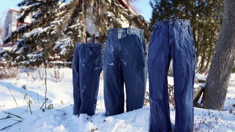 Minneapolise naabruskonna on vallutanud külmunud püksid