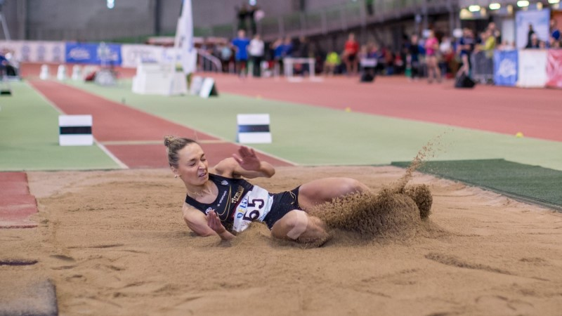 Ksenija Balta Berliinis neljas, võitja püstitas maailma tippmargi