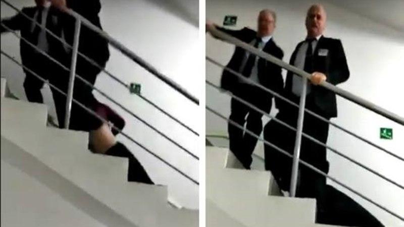 Охранники российского ТЦ сломали позвонок девочке-подростку (ВИДЕО)