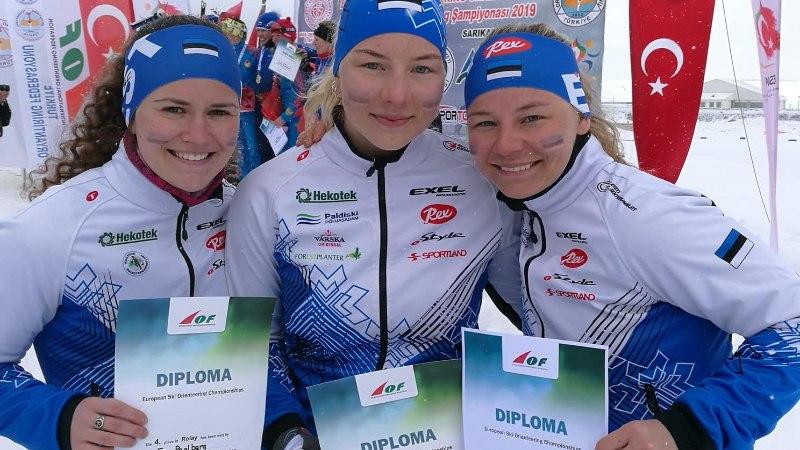 Eesti naiskond jäi EMil esimesena medalita