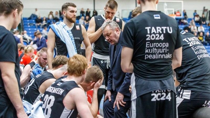 Tartu korvpallurid pidid taas mõru pilli alla neelama, Kalev ei suutnud eestlaste au päästa