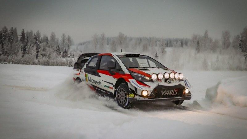 VIDEO   Ott Tänak valmistub hooaja teiseks võistluseks: kuradi lahe on talvistel teedel sõita!