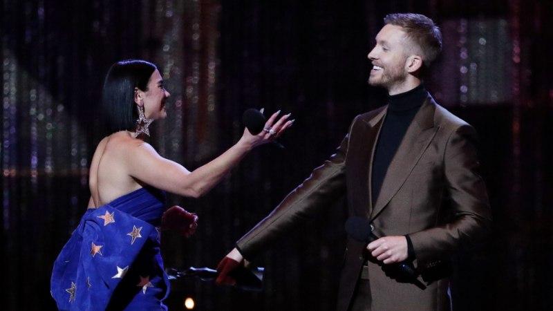 DJ Calvin Harrist saatis Brit Awardsil viimaks õnn