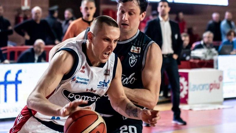 Eesti korvpallurid Itaalias: kogenum Veideman tegi noorele kolleegile 1:0