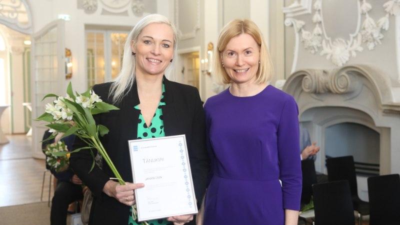 GALERII | Minister Sikkut tunnustas 2018. aasta tegusamaid terviseedendajaid