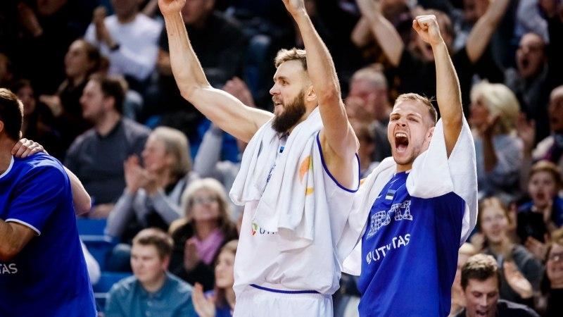 Eesti korvpallikoondis tegi maailma edetabelis tubli tõusu