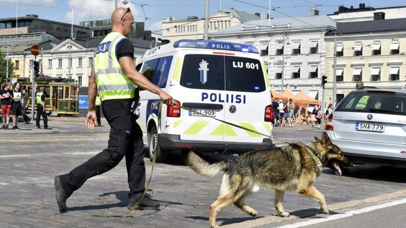 Soome politseikoerad saavad kaitsevestid