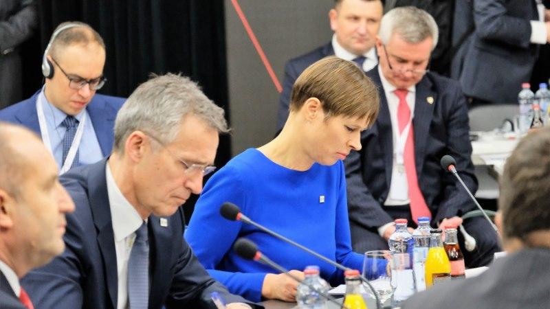 FOTOD   President Kaljulaid Slovakkias: töö NATO idatiiva tugevdamiseks peab jätkuma