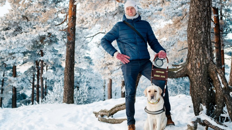 AITAME KOOS! Pimedaks jäänud Jakob Jõgisuu unistab arhitektitööst