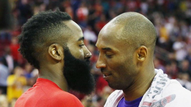 Kobe Bryant: niisuguse mängustiili jätkumisel Harden ja Rockets tiitlit ei võida