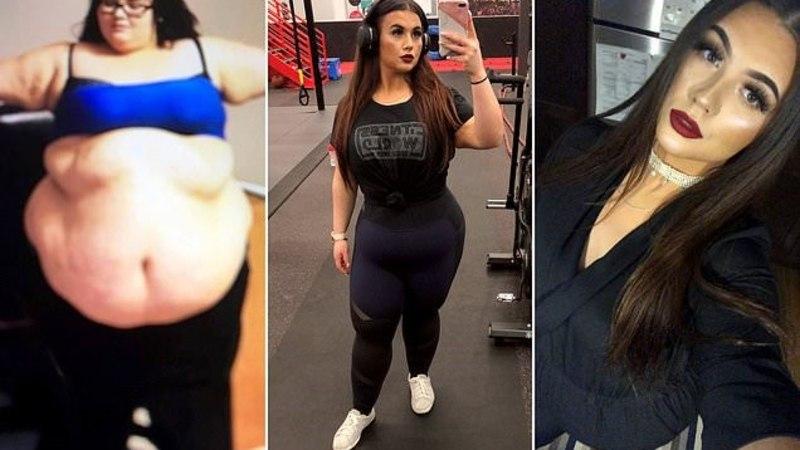 Женщина отказалась от фастфуда и похудела вдвое
