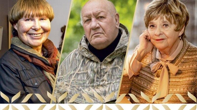 64 000 EUROT IGAÜHELE: riikliku kultuuri elutööpreemia saavad Viivi Luik, Fred Jüssi ja Leelo Tungal