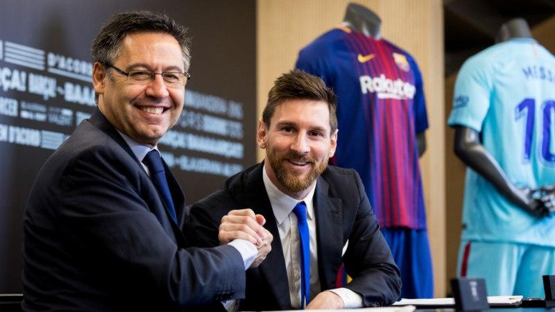 Barcelona president: valmistume eluks Lionel Messita!