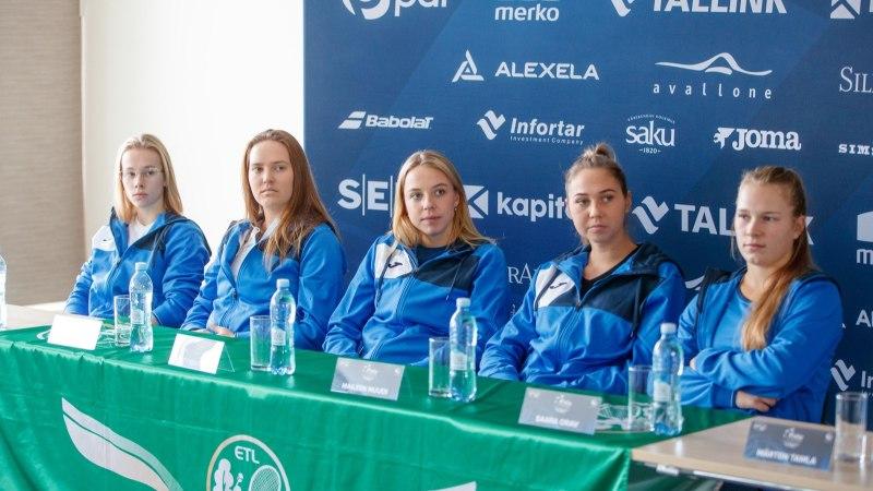 Ukrainalt kere peale saanud Eesti tennisenaised võitlevad koha eest päikese all