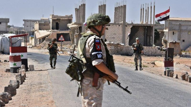 Российский морпех избежал тюрьмы после убийства в Сирии подчиненного