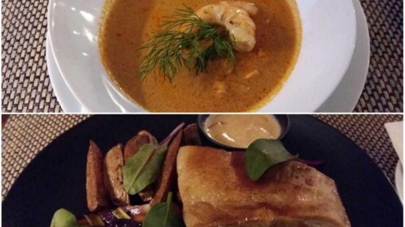 Karmo Tüüri supipöial restoranis Embecke: röötsakil, aga pea püsti