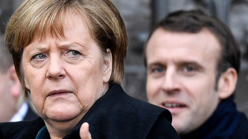"""""""Такого не было с войны"""": Макрон наотрез отказался от выступления с Меркель"""