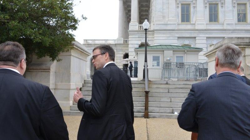 FOTOD   Välisiminister Sven Mikser Washingtonis: USA on pühendunud NATO-le ja liitlaste kaitsmisele