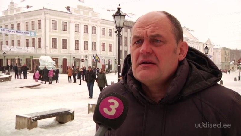 TV3 VIDEO | Tartu ägab lumeuputuse all: tänavad on kitsenenud ja katustel varitseb mitmeid ohte