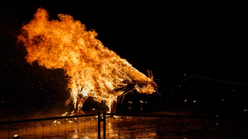 ÕL VIDEO JA GALERII | Kas sea-aasta tulesõu Kalarannas oli ohtlik?