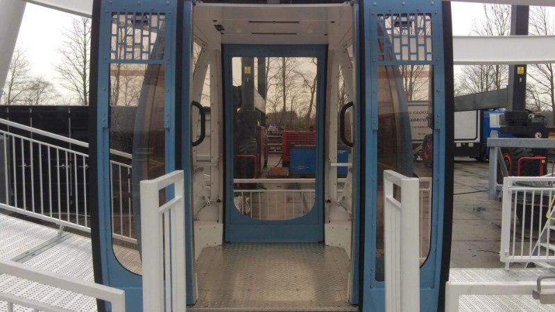 GALERII | T1 Mall of Tallinna katusele kerkiv vaateratas on valmis