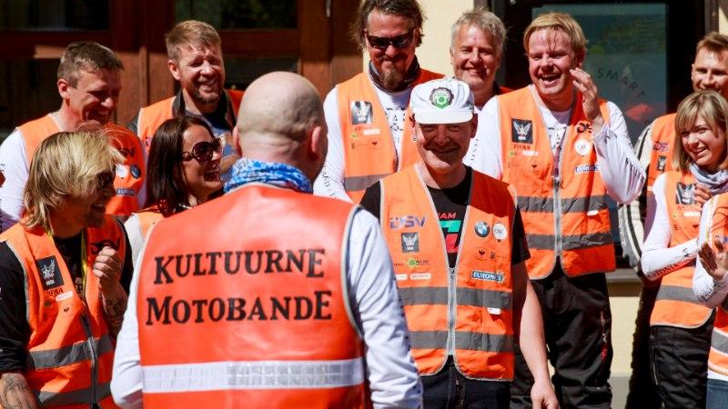 Kultuurne Motobande meenutas 10 tegutsemisaastat: 40kesi rännata ei ole ikka kõige õigem