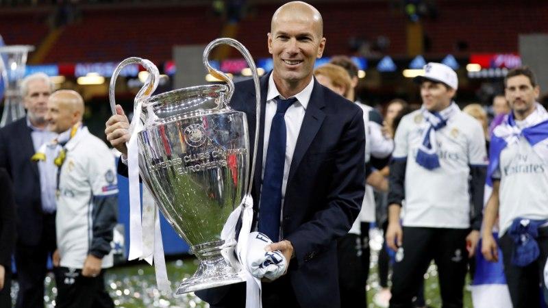 Kohutava hooaja teinud Madridi Real nimetas uueks peatreeneriks Zinedine Zidane'i!