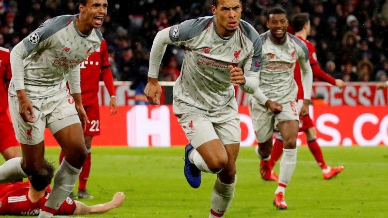 VIDEO | Liverpool pani Müncheni Bayerni siruli, Barcelona koolitas Lyoni