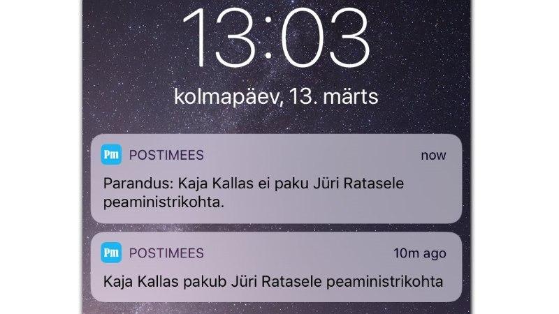 VIDEO JA FOTOD | Kallas pahandab Postimehega: ma pole öelnud, et pakun Ratasele peaministrikohta